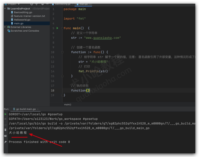 Go 语言闭包函数_作用_应用场景讲解